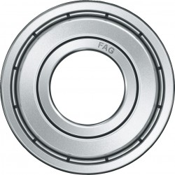 FAG Bearings-6000-2Z-C3 DEEP GROOVE BALL BEARING-Shielded