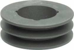 TBSPA112/2 2-V-GROOVE PULLEY FOR TAPER BUSHES